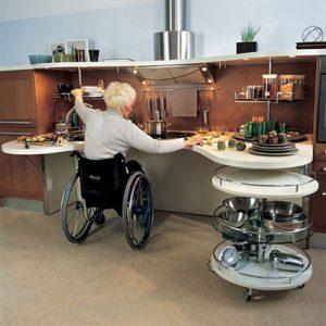 kitchen for elderly